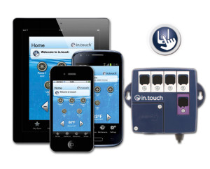Gecko in.touch. work wide wifi control for you spas and hot tubs